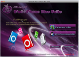 Скриншот Aiseesoft для iPod + iPhone Mac Suite