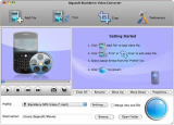 Скриншот Bigasoft BlackBerry Video Converter для Mac