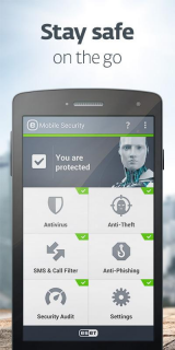 Снимок экрана ESET Mobile Security & Antivirus