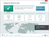Скриншот Kaspersky Security Scan