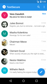 Скриншот Signal Private Messenger