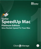 Скриншот Stellar Speedup Mac Platinum Edition
