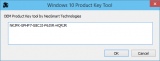 Скриншот Windows OEM Product Key Tool